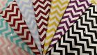 100% Zigzag Cotton (10cm sample colour testers & per metre purchasing)