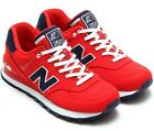 New Balance WL574POR Classic 574 Polo Pack Red / Navy Athletic Shoes Women's Size