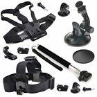 EEEKit for Action Outdoor Sport Camera,Head/Chest/Car Mount+Monopod Accessory