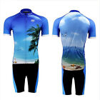 Seascape Cycling Bicycle Short Sleeve Clothing Set Bike Jersey + Shorts S-3XL