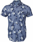 Mens Fashion Hawaiian Floral Shirt Goldhawk Short Sleeve Casual 100% Cotton