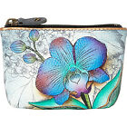 Anuschka Small Coin Purse 3 Colors Ladies Small Wallet NEW