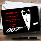 James Bond Personalised Party Thank You Cards £17.95 GBP on eBay