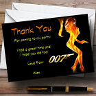 Bond Girl James Bond Personalised Party Thank You Cards £31.95 GBP on eBay