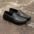 NEW Mens Prada Black Leather Driving Loafers Casual Shoes GENUINE RRP £240
