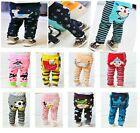 10 PAIRS Cotton Bottom Leggings Tight Pants for Baby Toddler Boy Girl 6-36Months
