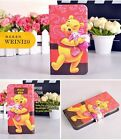 Funny Cartoon Winnie the Pooh Tigger PU Leather Flip Case Cover For Samsung R 5