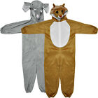 Uk Kids Anime Pyjamas Costume Hoodies Animal Onesie Unisex Fancy Dress Cosplay