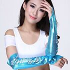 SA01 Belly Dance M finger Snakeskin Pattern Gloves 9 Colors