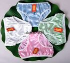 Women's Girl's 100% Pure Silk Briefs Bikinis Panties Knickers Size XS-3XL SU141