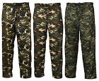 Mens Army Camo Camouflage Jogging fleece Bottoms Trousers Pants  M- XXXL