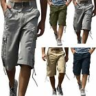 Mens Combat Causal Military Style Cargo Army Bermuda Summer Shorts