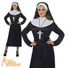 Adult Nun Costume Ladies Sister Act Fancy Dress Sexy Religious Habit Outfit