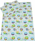 Children Bedding - Duvet Cover+Pillowcase/Curtains Baby, Toddler, Junior  - Owls