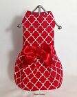 Lady In Red Dog Harness Dog Dress Size XXXS - MEDIUM by Doogie Couture