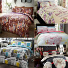 French Inspired Paris Eiffel Tower Duvet Quilt Cover Bedding Set & Pillowcases