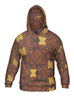 "Yizzam - ""Just Folk African Cloth""- New Mens Hoodie Sweater"