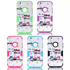 Deluxe The Owl Heavy Hybrid Rubber Front Back Case Cover for Apple iPhone6