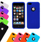 For iPhone 5 / 5S - Fingerprint Design Soft Silicone Rubber Case Back Cover