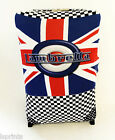 LAMBRETTA CHECKED DESIGN SUITCASE COVER EASILY IDENTIFY YOUR CASE