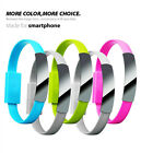 USB Data Sync Cord Charging Cable Portable Bracelet Style For iPhone Samsung Efo