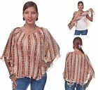 Romeo & Juliet Couture Tank Under Poncho Top