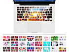 Cool 3D Series Silicone Keyboard Cover Skin For Macbook Pro Air Retina 13 15 17