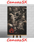 Sons Of Anarchy Large XL Framed Canvas Print SAMCRO Group Cast Fight Jax Teller
