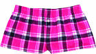 Womens Flannel Boxer Shorts - Sports Team & Highschool & College Loungewear