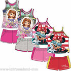Disney 2 Teiler Hose T-Shirt Minnie Mouse Prinzessin Sofia Top Oberteil 2er Set