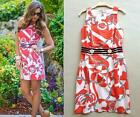 LAST1 ~  Lilly Pulitzer Kirkland Tango Orange Booze Cruise Shift Dress 2/4/6/8