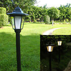 Outdoor 2-in-1 Solar Garden Light LED Lamp Rainproof Green Power Lawn Landscape