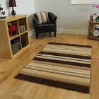 Cheap Natural Brown Lines Cream Beige Stripes Rug Havana Living Room Carpet Mats