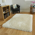 Modern Ultra Soft Warm Deep Pile White Shag Rug High Quality Luxury Shaggy Mats