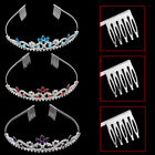 New Design Bridal Crystal Rhinestone Wedding Party Headband Tiara Hair Accessory