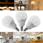 3 x E14 5W SMD LED Golf Ball Globe Bulbs Warm Day White Light Spotlight SES G4 L