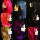 Beautiful, Elegant Long Cotton Hijab, Scarf, Womens Shawl