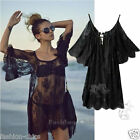 CelebStyle Gypsies Black  Lace Open Front Cover Up