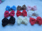 50 PCS /LOT Handmade Designer Pet Dog Accessories Grooming Hair Bows For Dogs