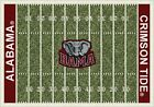 Alabama Crimson Tide NCAA Home Field Area Rug