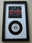 AC/DC Black Ice BACK IN BLACK Framed CD Disc Presentation