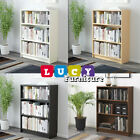 IKEA BILLY Bookcase Shelving Unit Storage Shelf Display Rack 4 Colors NEW