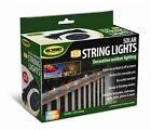 50 Solar Powered LED String Lights 25ft Outdoor Decorative U