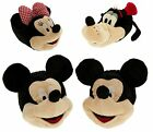 Disney Womens Character Novelty Slippers Mickey Mouse Minnie Mouse Goofy