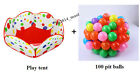 Kids Portable Lotus Flower Pit Balls Pool Outdoor Indoor Baby Play Tent Playhut