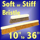 BROOM HEADS - CHOICE OF SOFT / STIFF BRISTLES SIZES 10 to 36 inch brush sweeping