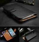 Genuine Leather Stand Flip Case Cover Book For Alcatel One Touch POP C5 C7
