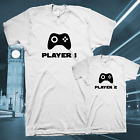 funny mens Daddy Matching T-Shirt Tee top father dad gift cute gamer family