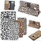 Sexy Leopard Print Wallet Flip Leather Case Cover Stand For Various Mobile Phone