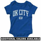 Oklahoma City 405 One Piece - Thunder OK Baby Infant Creeper Romper - NB to 24M